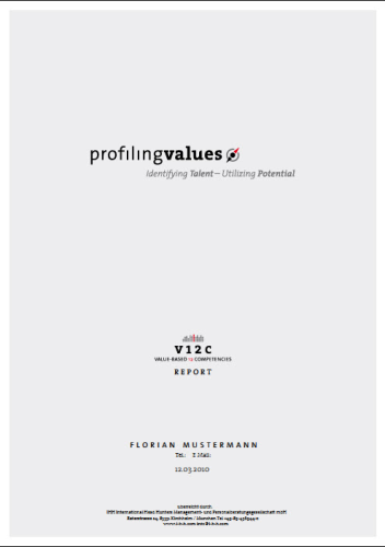 profilingvalues Report