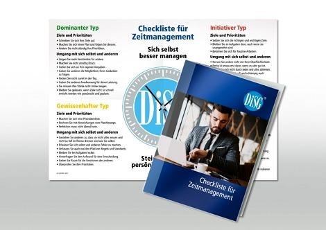 DISG Checkliste Zeitmanagement 1